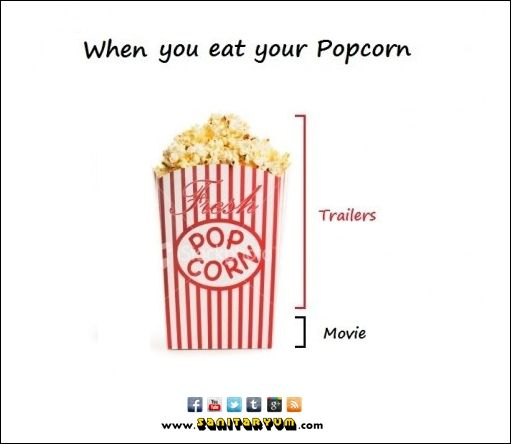 Right? #theater #popcorn #humor