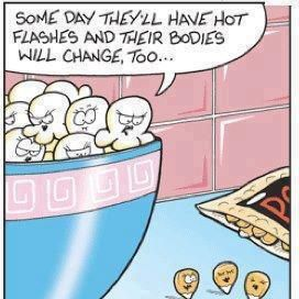 Ha! Popcorn humor for sure :) Repinned from Margaret Horton