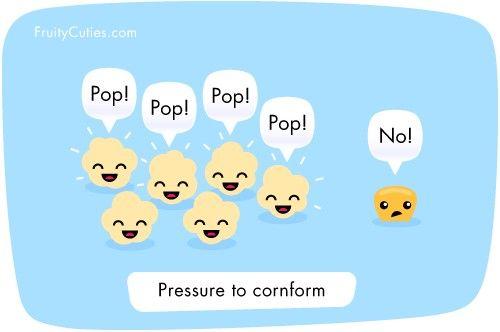 Non-conformist #popcorn. #Humor