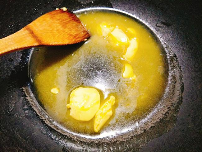 Kết quả hình ảnh cho cách làm bắp rang bơ bạc hà