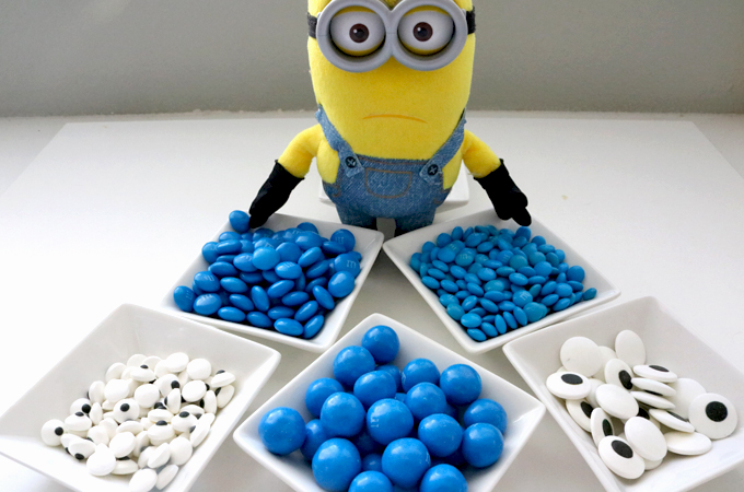 Candy Mix-ins for the Minions Popcorn