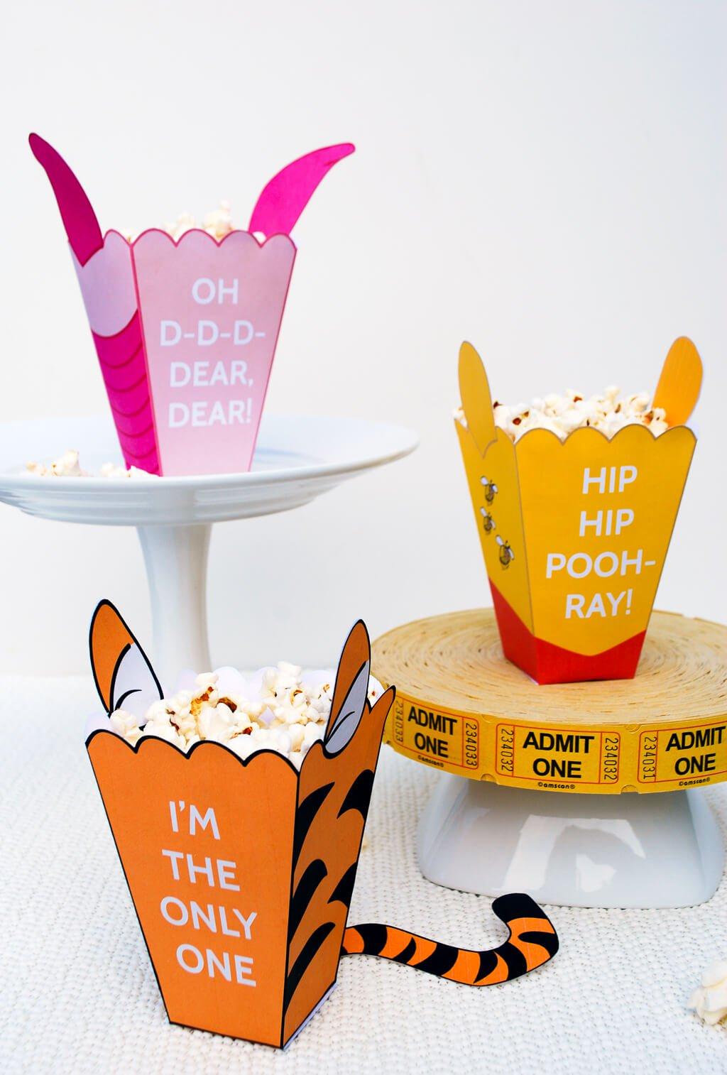 Kết quả hình ảnh cho how to make a cute popcorn box