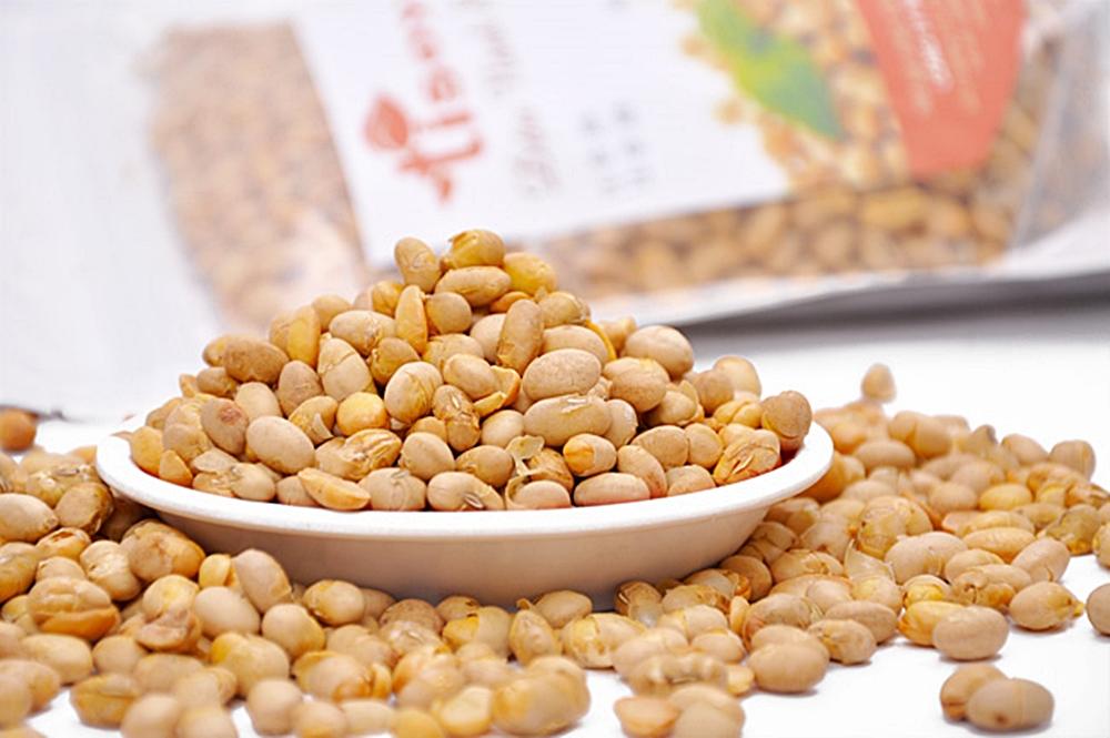 Đậu nành Mỹ là nguyên liệu tốt nhất để sản xuất đỗ tương rang sấy