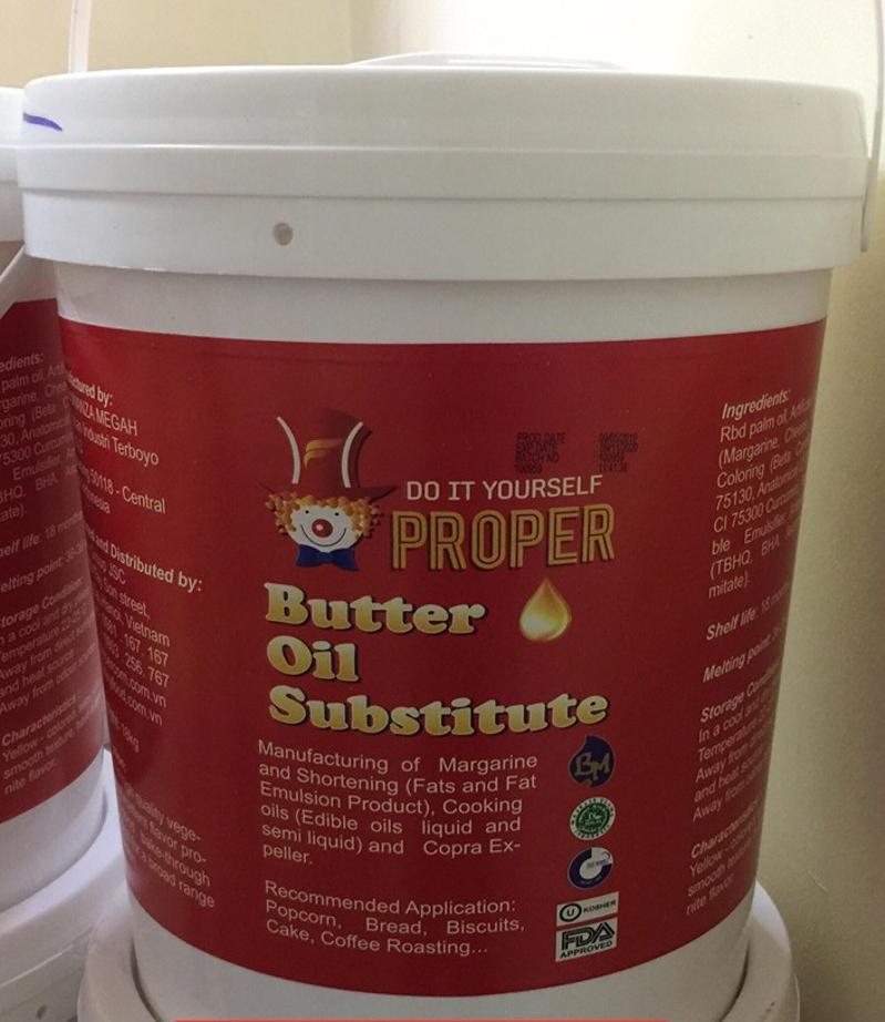 Dầu bơ thay thế - Proper Butter Oil Substitute-hình 2