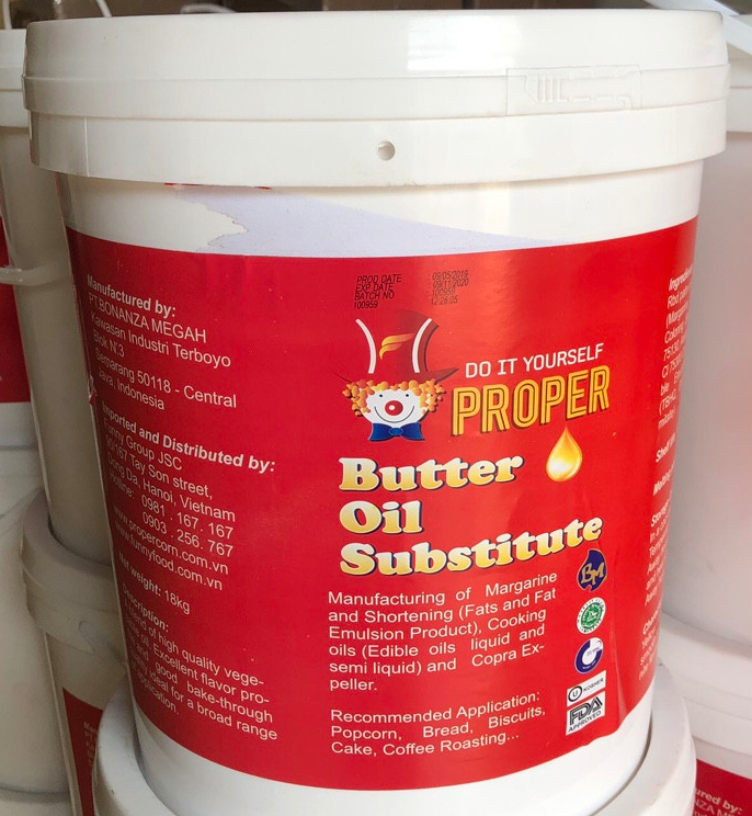 Dầu bơ thay thế - Proper Butter Oil Substitute-hình 1